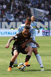 """Foto Filippo Rubin<br /> 06/05/2018 Ferrara (Italia)<br /> Sport Calcio<br /> Spal - Benvento - Campionato di calcio Serie A 2017/2018 - Stadio """"Paolo Mazza""""<br /> Nella foto: VITTORIO PARIGINI (BENEVENTO)<br /> <br /> Photo Filippo Rubin<br /> May 06, 2018 Ferrara (Italy)<br /> Sport Soccer<br /> Spal vs Benvento - Italian Football Championship League A 2017/2018 - """"Paolo Mazza"""" Stadium <br /> In the pic: VITTORIO PARIGINI (BENEVENTO)"""