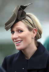 MAR 14 2013 Zara Phillips at Cheltenham Festival