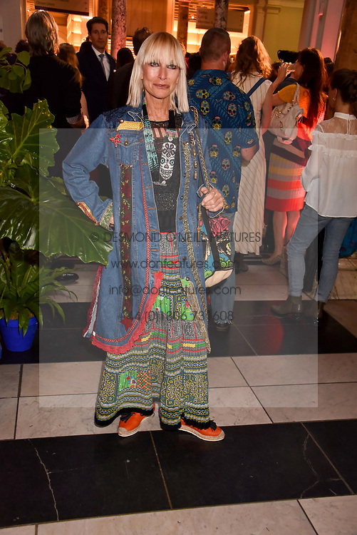 "Virginia Bates at the opening of ""Frida Kahlo: Making Her Self Up"" Exhibition at the V&A Museum, London England. 13 June 2018."
