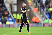 Ezgjan Alioski (10) of Leeds United during the EFL Sky Bet Championship match between Reading and Leeds United at the Madejski Stadium, Reading, England on 10 March 2018. Picture by Graham Hunt.