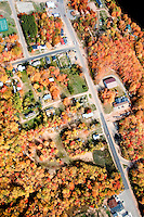 Marquette County Aerial, Fall Colors