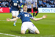 Blackburn Rovers defender Darragh Lenihan (26) celebrates after scoring his team's fourth goal during the EFL Sky Bet Championship match between Sheffield Wednesday and Blackburn Rovers at Hillsborough, Sheffield, England on 18 January 2020.