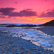 Bob Creek Sunset - Dusk - Oregon Coast