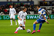 Swansea City midfielder Conor Gallagher (33) during the EFL Sky Bet Championship match between Swansea City and Queens Park Rangers at the Liberty Stadium, Swansea, Wales on 11 February 2020.