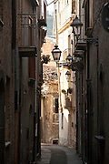 Alley during the day, Sicily, Italy.
