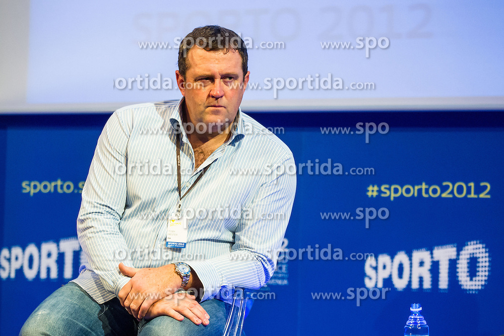 Toby Hester of European Sponsorship Association during sports marketing and sponsorship conference Sporto 2012, on November 26, 2012 in Hotel Slovenija, Congress centre, Portoroz / Portorose, Slovenia. (Photo By Vid Ponikvar / Sportida.com)