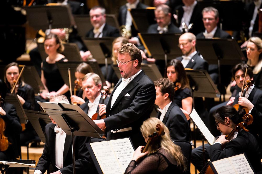 Tomasz Konieczny sings in St Luke's Passion  by Polish composer Krzysztof Penderecki