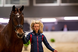 GRAVES Laura (USA), Verdades<br /> Göteborg - Gothenburg Horse Show 2019 <br /> Vet-Check Dressurpferde<br /> Longines FEI Jumping World Cup™ Final and FEI Dressage World Cup™ Final<br /> 04. April 2019<br /> © www.sportfotos-lafrentz.de/Stefan Lafrentz