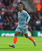 Eden Hazard (10) of Chelsea during the Premier League match between Southampton and Chelsea at the St Mary's Stadium, Southampton, England on 7 October 2018.