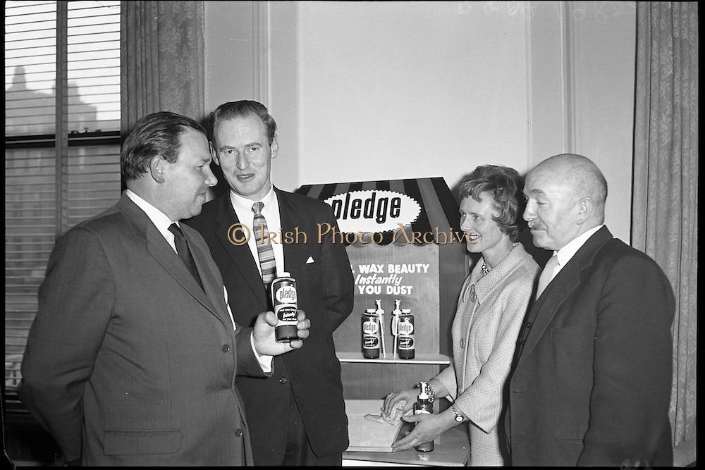 &quot;Pledge&quot; Reception at Shelbourne Hotel.<br /> 20.04.1961