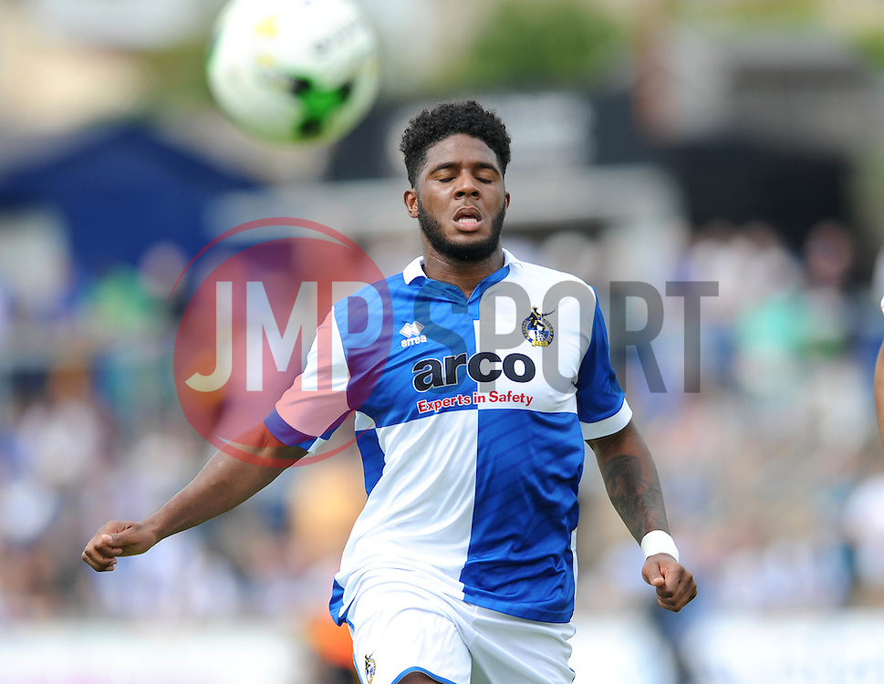 Ellis Harrison of Bristol Rovers - Photo mandatory by-line: Dougie Allward/JMP - Mobile: 07966 386802 - 18/07/2015 - SPORT - Football - Bristol - Memorial Stadium - Pre-Season Friendly