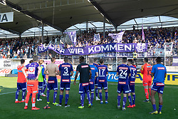 26.05.2019, TGW Arena, Pasching, AUT, 1. FBL, LASK vs FK Austria Wien, Meistergruppe, 32. Spieltag, im Bild die Austria unterliegt in Pasching // during the tipico Bundesliga master group 32th round match between LASK and FK Austria Wien at the TGW Arena in Pasching, Austria on 2019/05/26. EXPA Pictures © 2019, PhotoCredit: EXPA/ Reinhard Eisenbauer