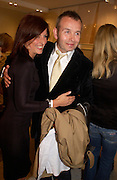 Davina McCall and Piers Adam. Launch of 'Lucy  Sykes Baby, New York' Selfridges. 14 April 2005. ONE TIME USE ONLY - DO NOT ARCHIVE  © Copyright Photograph by Dafydd Jones 66 Stockwell Park Rd. London SW9 0DA Tel 020 7733 0108 www.dafjones.com