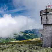 The Mount Washington Observatory atop Mount Washington
