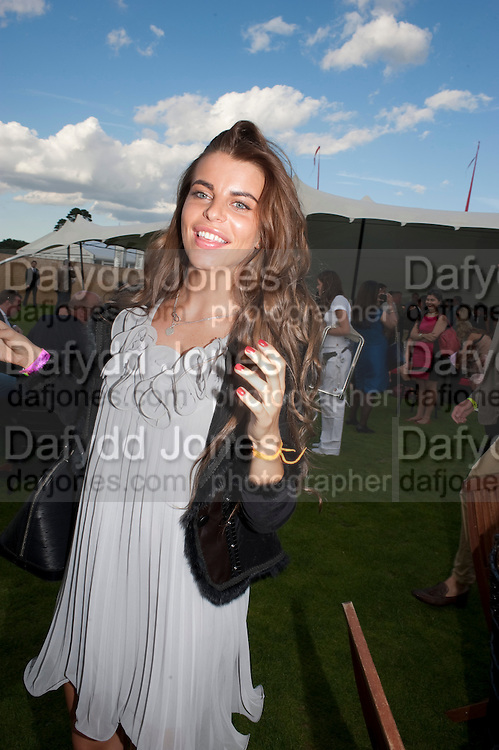 LINA CESS, After party at China White's club. Cartier International Day at Guard Polo Club, Windsor Great Park. 24 July 2011. ChinaWhite Tent during Cartier Polo. <br /> <br />  , -DO NOT ARCHIVE-&copy; Copyright Photograph by Dafydd Jones. 248 Clapham Rd. London SW9 0PZ. Tel 0207 820 0771. www.dafjones.com.