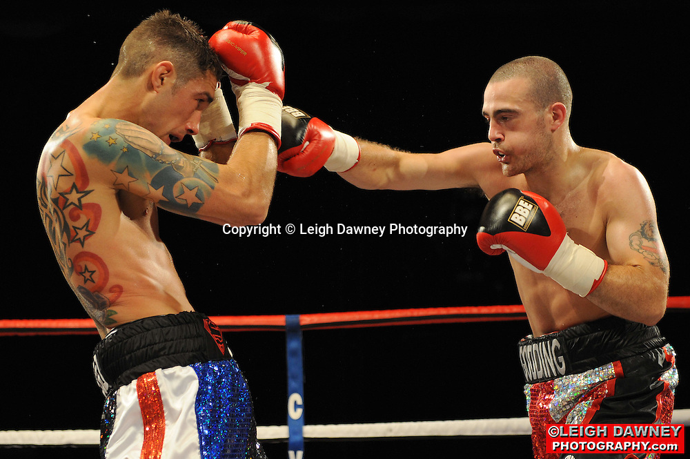 Rick Godding defeats Scott Haywood at the Doncaster Dome, Doncaster on 2nd July 2010. Frank Maloney Promotions. Photo credit: © Leigh Dawney