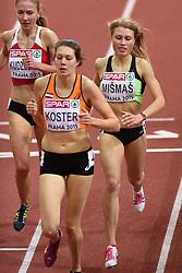 06-03-2015 CZE: European Athletics Indoor Championships, Prague<br /> Marusa Mismas SLO