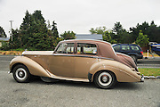 New Zealand, South Island, Queenstown Vintage Rolls Royce