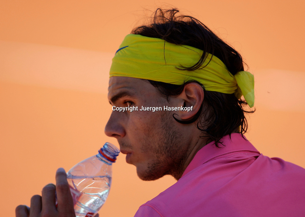 French Open 2009, Roland Garros, Paris, Frankreich,Sport, Tennis, ITF Grand Slam Tournament, <br /> <br /> Rafael Nadal (ESP) <br /> <br /> Foto: Juergen Hasenkopf