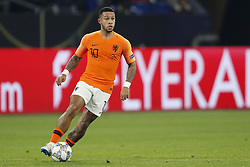 Memphis Depay of Holland during the UEFA Nations League A group 1 qualifying match between Germany and The Netherlands at the Veltins Arena on November 19, 2018 in Gelsenkirchen, Germany