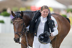Chardon Jeanette (NED) - Vienna <br /> Cross country<br /> CCI3*  Luhmuhlen 2014 <br /> © Hippo Foto - Jon Stroud
