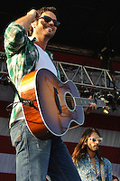 Chuck Wicks performs at the O'Fallon Heritage and Freedom Festival on July 3rd, 2010