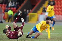 Bristol Rovers' Ellis Harrison - Photo mandatory by-line: Neil Brookman/JMP - Mobile: 07966 386802 - 28/02/2015 - SPORT - Football - Gateshead - Gateshead International Stadium - Gateshead v Bristol Rovers - Vanarama Football Conference
