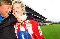 Fotball/Eliteserien/Alfheim-Tromsø: TIL (Tromsø IL) - RBK 4-1/ Morten Gamst Pedersen og ass.trener Otto Ulseth<br /> FOTO: KAJA BAARDSEN/DIGITALSPORT