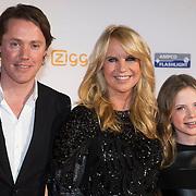 NLD/Amsterdam/20140303 - Uitreiking TV Beelden 2014, Jeroen Rietbergen, Linda de Mol en Noah Vahle