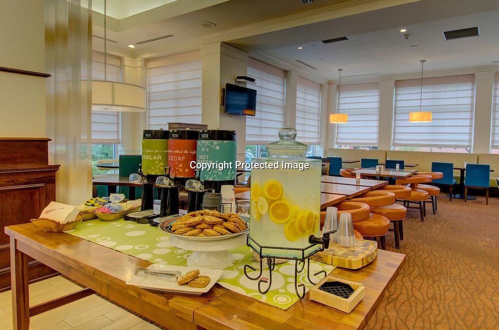 Hilton Garden Inn Norwalk, CT Lobby Coffee Bar
