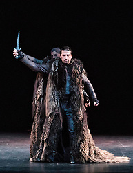 A new production of Verdi's dark operatic thriller, given by the Edinburgh International Festival's 2017 resident company Teatro Regio of Turin, conducted by Gianandrea Noseda and directed by Emma Dante. The production runs from 18-20 August at the Festival Theatre in Edinburgh.<br /> <br /> Pictured: Dalibor Jenis (Macbeth)