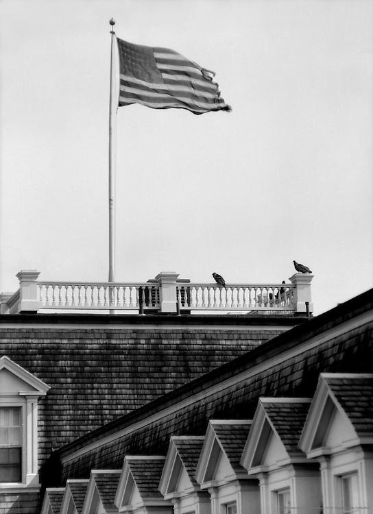 """Star Spangled Banner"" Royal Palm Hotel, Miami, Florida, 1926"