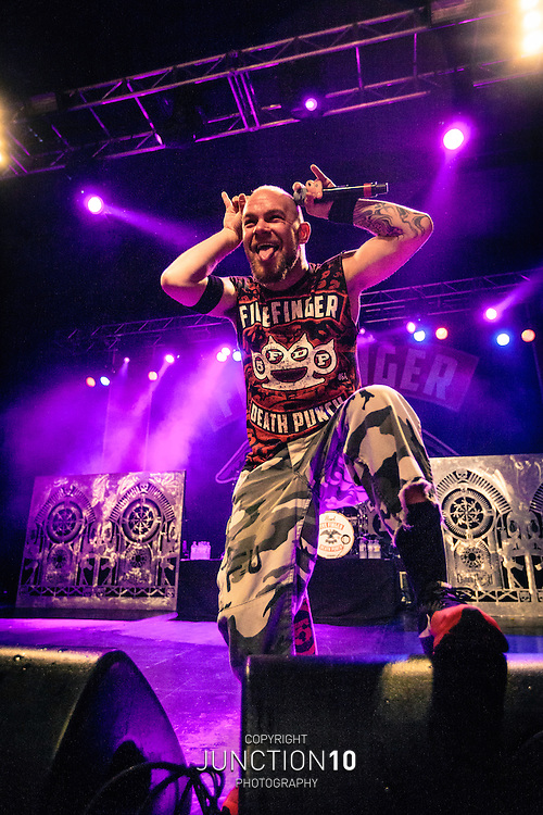 Five Finger Death Punch performs in concert at the O2 Academy, Birmingham, United Kingdom<br /> Picture Date: 28 March, 2014