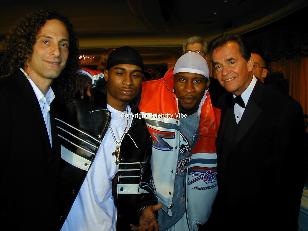 Kenny G, Product &amp; Dick Clarke<br />Arista Records Pre Grammy Bash Hosted By Clive Davis<br />Beverly Hills Hotel<br />Los Angeles, California, USA<br />Tuesday,February 22, 2000<br />Photo By Celebrityvibe.com/Photovibe.com