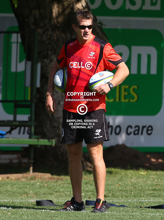 DURBAN, SOUTH AFRICA, 22 January 2016 -  Ryan Strudwick (Assistant Coach) of the Cell C Sharks during The Cell C Sharks Pre Season training for the 2016 Super Rugby Season at Growthpoint Kings Park in Durban, South Africa. (Photo by Steve Haag)<br /> images for social media must have consent from Steve Haag