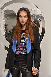 Doina Ciobanu at the Charlotte Simone LFW Autumn Winter 2017 showcase, The Vinyl Factory, 51 Poland Street, London England. 17 February 2017.