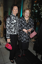 Left to right, sisters RACHEL BILLINGTON and LADY ANTONIA FRASER at the Orion Publishing Groups Authors party held at the V&A museum, Cromwell Road, London on 15th February 2007.<br /><br />NON EXCLUSIVE - WORLD RIGHTS