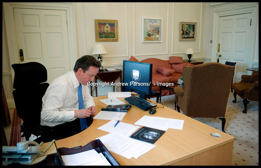 David Cameron Inside Cabinet Room I Images