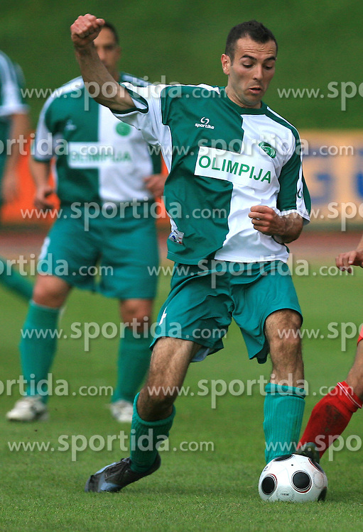 Adnan Alagic of Olimpija at football match of 2nd SNL between NK Olimpija Ljubljana and NK Zagorje, on May 03, 2009, in ZAK stadium, Ljubljana, Slovenia. Olimpija won 9:0 and 4 Rounds before the end won the 1st place in 2nd SNL. Next year they will play in First Slovenian League. (Photo by Vid Ponikvar / Sportida)