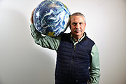 Thomas Friedman, the New York Times columnist and author at his office in Washington DC.<br /> (born July 20, 1953) is an American journalist, author, and three time Pulitzer Prize winner.<br /> Friedman currently writes a weekly column for The New York Times. He has written extensively on foreign affairs, global trade, the Middle East, globalization, and environmental issues.<br /> Friedman is the author of &quot;The World is Flat&quot;