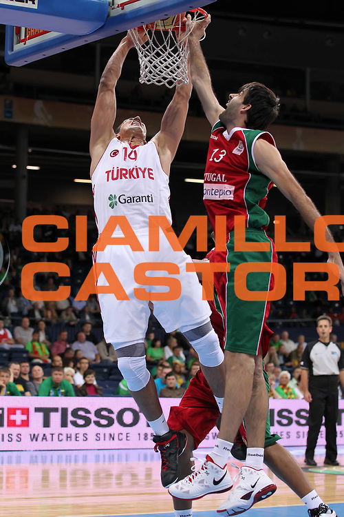 DESCRIZIONE : Panevezys Lithuania Lituania Eurobasket Men 2011 Preliminary Round Turchia Portogallo Turkey Portugal<br /> GIOCATORE : Enes Kanter <br /> SQUADRA : Turchia Turkey<br /> EVENTO : Eurobasket Men 2011<br /> GARA : Turchia Portogallo Turkey Portugal <br /> DATA : 31/08/2011 <br /> CATEGORIA : tiro shot<br /> SPORT : Pallacanestro <br /> AUTORE : Agenzia Ciamillo-Castoria/ElioCastoria<br /> Galleria : Eurobasket Men 2011 <br /> Fotonotizia : Panevezys Lithuania Lituania Eurobasket Men 2011 Preliminary Round Turchia Portogallo Turkey Portugal<br /> Predefinita :