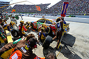 May 5-7, 2013 - Martinsville NASCAR Sprint Cup. Kyle Busch, Toyota <br /> Image © Getty Images. Not available for license.