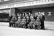 19/09/1963<br /> 09/19/1963<br /> 19 September 1963<br /> Group for meeting at I.C.T. Adelaide Road, Dublin.