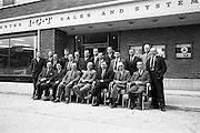 19/09/1963<br /> 09/19/1963<br /> 19 September 1963<br /> Group for meeting at I.C.T. Adelaide Road, Dublin.