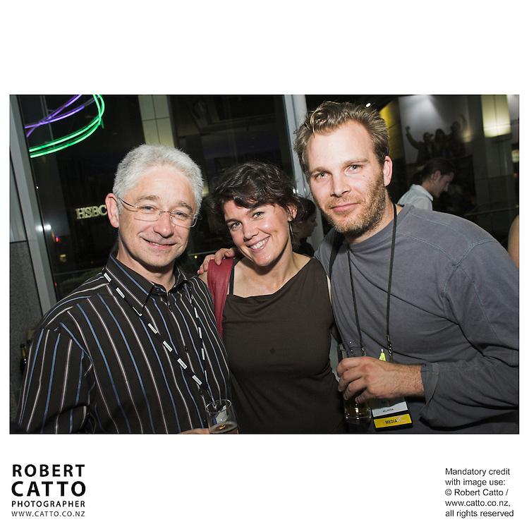 Ynyr Williams;Kim Baker;Matthew Saville at the Spada Conference 06 at the Hyatt Regency Hotel, Auckland, New Zealand.<br />