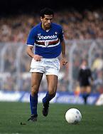 15.12.1985.Roberto Galia - US Sampdoria.©Juha Tamminen