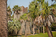 Atalaya mansion in Huntington State Park Murrells Inlet, SC. The mansion was the winter home of Archer M. Huntington and his wife, sculptor Anna Hyatt Huntington.