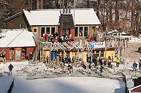 Proctor Academy Slalom at Blackwater Ski Area in Andover, NH  © 2013 Karen Bobotas Photographer