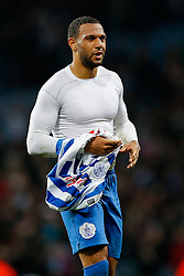 Matt Phillips of QPR leaves the pitch after the match ends in a 3-3 draw - Photo mandatory by-line: Rogan Thomson/JMP - 07966 386802 - 07/04/2015 - SPORT - FOOTBALL - Birmingham, England - Villa Park - Aston Villa v Queens Park Rangers - Barclays Premier League.