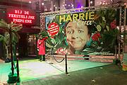 2017-10-30. Premiere van Harrie en Eva bij de Goudse Schouwburg in Gouda. Op de foto: